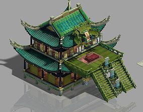 College - main building 3D