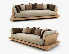 3D Bonetti kozerski studio - Lounge sofa