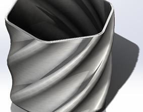 3D printable model Helix Pot