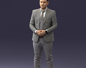 Businessman 0709-3 3D model people