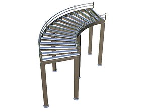 Arc Conveyor 3D asset