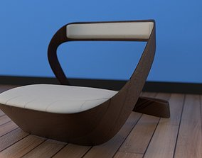 organic chair design 3D model