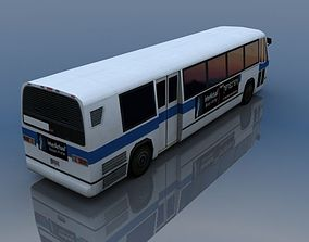 US Style Bus 3D model