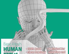 3D model Human Fetus