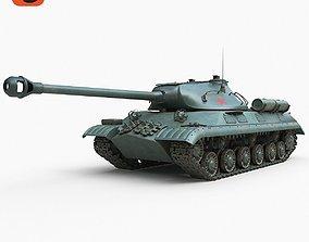 3D model Tank IS 3M Corona