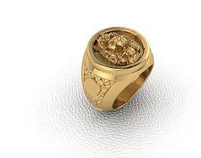 Ring Lion 1 3D printable model