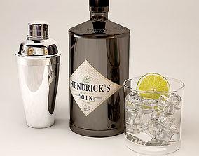 3D Gin Hendrix