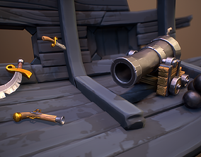Pirates Story - Weapons Pack 3D asset