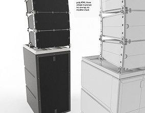 3D asset Concert Speaker Cab