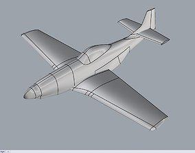 Plane P51 Mustang 3D