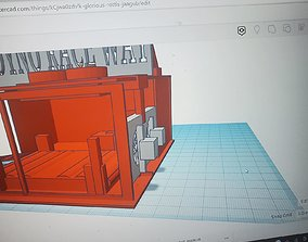hot wheels dyno track display 3D printable model