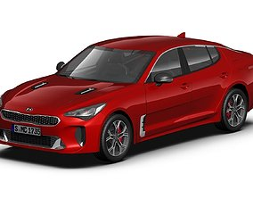 2018 Kia Stinger 3D model