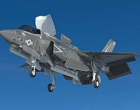 Powerful F35bf 3D model