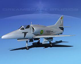 Douglas A-4G Skyhawk Bolivian 3D model
