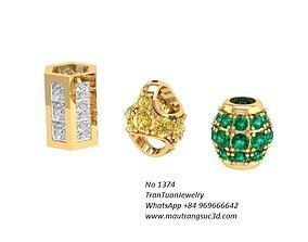 1374 Diamond Charm 3D print model
