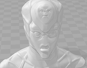 King Crimson Bust 3D printable model
