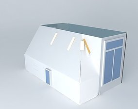 House plan 3D model