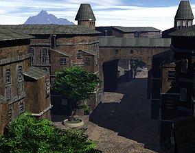 Old European Town 3D