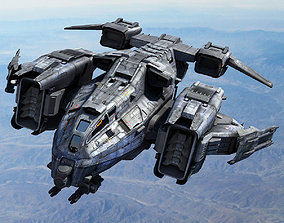 SF Dropship 3D model