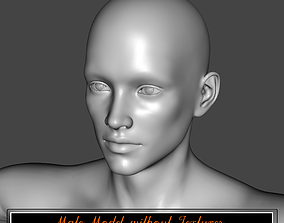 Male model without textures 3D