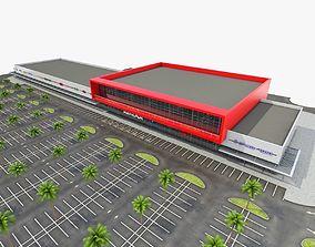 Shopping Mall 02 3D asset