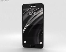 Samsung Galaxy C7 Gray 3D