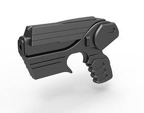 3D model Peacekeeper Pulse Blaster Pistol from Farscape TV