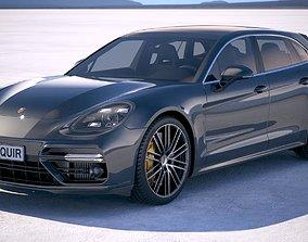 3D Porsche Panamera Sport Turismo 2018