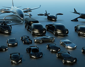 Future Vehicles Collection 3D
