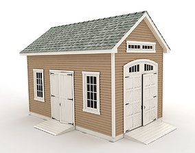 Garden shed farm 3D
