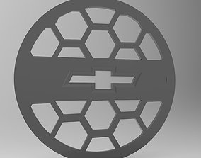 3D print model Protective mesh for speaker Chevrolet