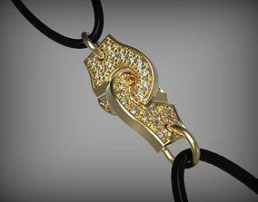 Bracelet lock SSC Handcuffs jewelry 3d printable stl 1