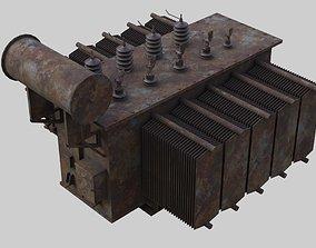 Electrical Transformer 2C 3D model