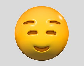 Emoji Smiling Face with Smiling Eyes 3D model expresions