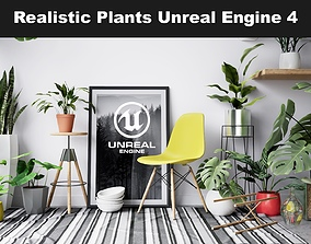 Realistic Plants Pack - Unreal Engine 4 3D asset