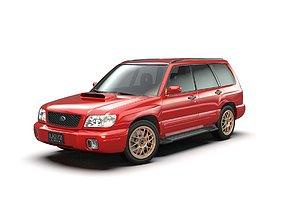 Subaru Forester SF5 S-turbo 2000-2002 3D model