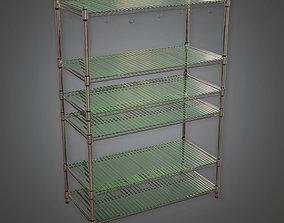 KTC - Kitchen Shelf - PBR Game Ready 3D asset