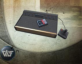 3D asset Retro gaming console