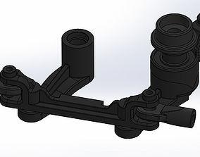Traxxas E Maxx T Maxx Sterring Set Assembly 4945 3D Print