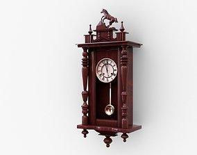 Pendulum Wall Clock 3D model