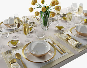 table setting 08 3D