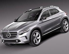 Mercedes Benz GLA Concept 2013 3D