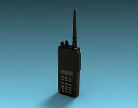 3D asset Two-way radio
