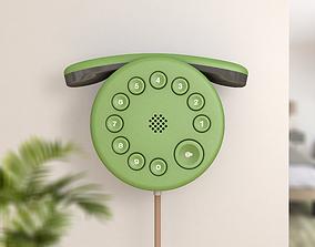 Wall phone 3D model