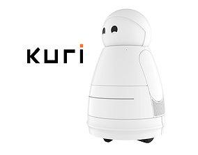 Kuri Robot White 3D model