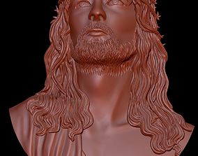 Jesus Christ 3D Highly Detailed Bas Relief for 3D Print 2