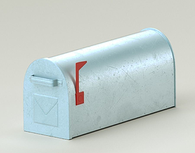 Detailed letterbox 3D architectural