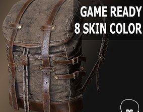 3D asset realtime Backpack 002