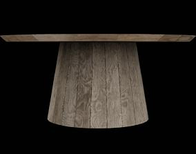 Circular Table 01 3D model