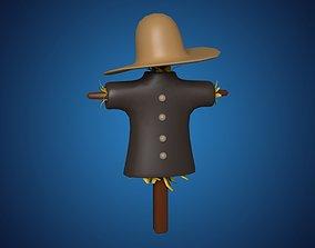 3D Cartoon Scarecrow